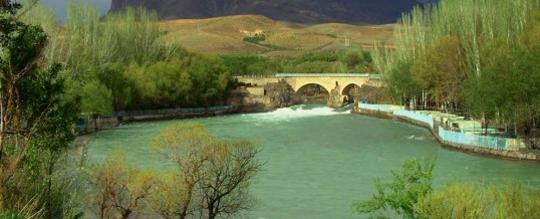 پل زمان خان ،عروس زاینده رود در استان بختیاری